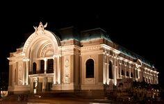 Opera House in Sai Gon, Vietnam