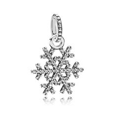 Cute snowflake charm by the winter collection