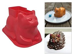 Mini Cat Shaped Cake Molds (4 Pack, Silicone) - For Cakes... https://www.amazon.com/dp/B0711QMH7Q/ref=cm_sw_r_pi_dp_U_x_j0hwAbXG00Y39