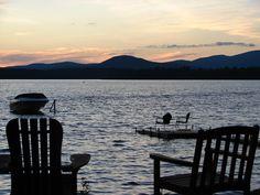 Adirondack Mountains, Upstate NY; Sacandaga Lake. My Grandparents had a cabin rental and General Store/Tavern on Sacandaga Lake.