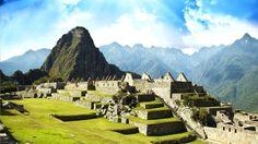 Machu Picchu beautiful scene Cusco Peru