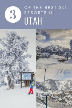 Ski #Utah 3 ways: The best resorts for every type of skier.   #USA | #Travel | #NorthAmerica | #Ski | #ParkCity | #DeerValley
