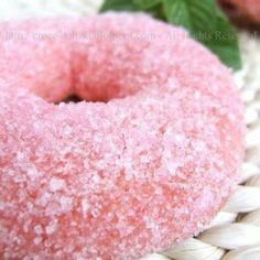 #pink donut.