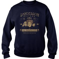 SANDERSON SISTERS - ON ALL HALLOWS EVE Shirt   SANDERSON SISTERS – ON ALL HALLOWS EVE Shirt is a awesome shirt about topic SANDERSON SISTERS – ON ALL HALLOWS EVE that our team designed for you. LIMITED EDITION with many style as longsleeve tee, v-neck, tank-top, hoodie, youth tee. This shirt has different color and size, click button bellow to grab it.  >>Buy it now:  https://kuteeboutique.com/shop/sanderson-sisters-hallows-eve-shirt/