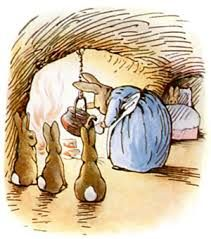 flopsy mopsy and cottontail, Beatrix Potter