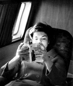 jackie kennedy reading dharma bums