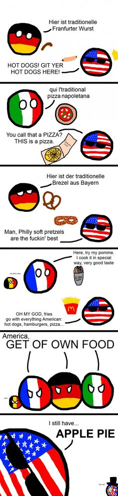 USA, Stop Messing With Another Countries' Food