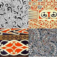 If you knew how long it took me to find these few Maori designs online. Polynesian dance/hula (Hawaiian, Tahitian, and Maori) was a hob. Maori Legends, Maori Patterns, Polynesian Dance, Maori Designs, New Zealand Art, Nz Art, Marquesan Tattoos, Maori Art, Kiwiana