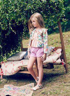 Nellystella Clio Shorts in Orchid Bouquet - PRE-ORDER – Hello Alyss - Designer Children's Fashion Boutique