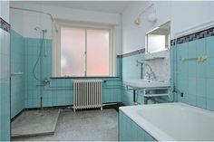 Originele tegels badkamer jaren 30  Badkamers jaren 30  Pinterest