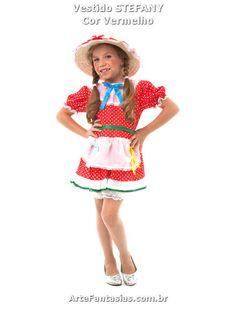 4332b366d9337 Vestidos de Festa Junina ° Arte FANTASIAS - Roupa Junina