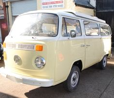 One day our van might get a respray and if so pale custard is the colour i would like
