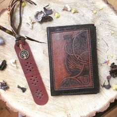 ⚡️PASSPORT COVER⚡️     A set from the cover on the passport with a depiction of the Drakkar and bookmarks with the symbol of the world tree - Yggdrasil, went to the Czech Republic 🇨🇿.  #Futhark #iggdrasil #Viking #Drakkar #dragon #Vikings #Drage #norsestyle #Wotan #Odin #Thor #Rune #Iceland #Norway #norge #norsemen #norse #occultism #bookmark #norsemythology #Passport #PassportCover #PassportHolder #Leatherholder #LeatherCover #Valhalla #Heathenry #Asatru #Wicca