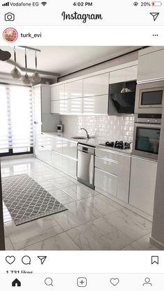Kitchen Room Design, Home Room Design, Modern Kitchen Design, Home Decor Kitchen, Interior Design Kitchen, Kitchen Sitting Areas, Small Kitchen Layouts, Diy Kitchen Storage, Design Moderne