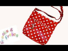 How to Sew a Messenger Bag - Frocks & Frolics 'Grab THAT Bag' Pattern - YouTube