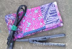 30      Jacket Upcycle into Flat-Iron or Tablet Sleeve   Packing for Portland, with an Easy-Peasy Flat-Iron Case Project