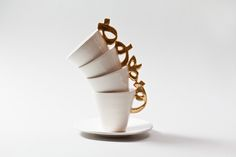 PIN IT UP: Probably White is a fusion of artisanal ceramics with contemporary Arabic calligraphy