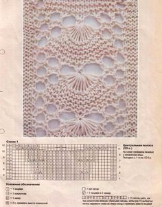 I don't usually do knitted lace, for some reason this one caught my eye.