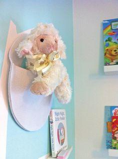 Toy pocket made by Yuyu & Gigi Design Residential Interior Design, Sprinkles, Teddy Bear, Nursery, Scrapbook, Pocket, Toys, Inspiration, Activity Toys