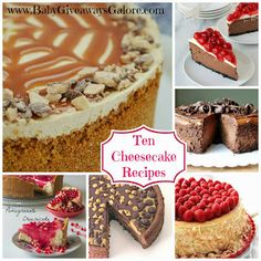 Baby Giveaways Galore: Cheesecake Recipe Round-Up