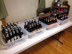 Beer Tasting Party it's a good idea for Chase's beer and peanuts party I'm throwing! Beer Tasting Parties, Wine Tasting Events, Beer Mac And Cheese, Burger Party, Craft Ale, Oktoberfest Beer, Beer Gifts, Beer Label, Wine And Beer