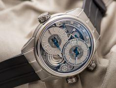 Breva | The Gènie02 Terre, equipped with a high precision mechanical altimeter  #breva #watch #genie02 #altimeter