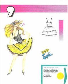 patrones de ropa de barbie (pág. 2) | Aprender manualidades es facilisimo.com