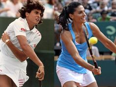 See What Tennis Legends From The Past Look Like Today      Gabriela Sabatini, 42, of Argentina, won two Grand Slam titles (one is singles and one in doubles), and a silver Olympic medal (1985-1996).    http://www.businessinsider.com/tennis-legends-2012-8#gabriela-sabatini-42-of-argentina-won-two-grand-slam-titles-one-is-singles-and-one-in-doubles-and-a-silver-olympic-medal-1985-1996-20