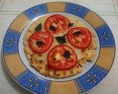 Ângela Bastos: Pizza Rápida de Frigideira