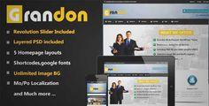 Grandon Multipurpose Wordpress Theme | DOWNLOAD & REVIEW