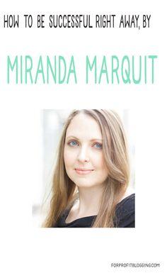 If You Want to Make Money Immediately Online, Follow Miranda Marquit's Advice