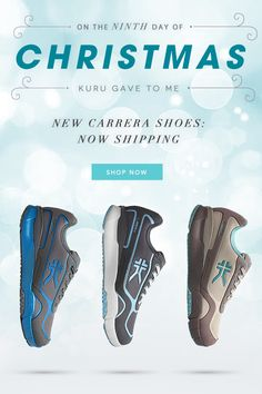 Shop our newest fitness runner style. The Carrera available in 3 colors for women & 2 colors for men. Shop Now www.kurufootwear.com