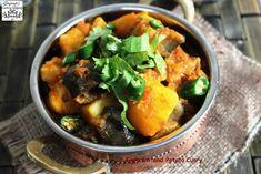 Jagruti's Cooking Odyssey: Ringna Batata nu Shaak - Eggplant and Potato Curry - Kem Cho ?