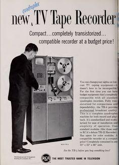 Tiny TV Tape Recorder