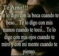 Te amo  !!