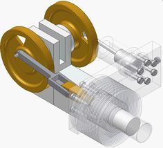 Stirling-Motor Mechanical Engineering Design, Marine Engineering, Mechanical Design, Automotive Engineering, Electrical Engineering, Pulleys And Gears, Stirling Engine, Army Vehicles, Aircraft Design