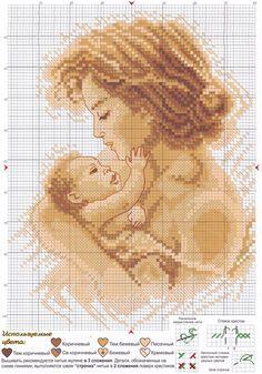 "Photo from album ""Материнство"" on Yandex. Baby Cross Stitch Patterns, Cross Stitch Baby, Cross Stitch Designs, Cross Stitch Boards, Cross Stitch Needles, Cross Stitching, Cross Stitch Embroidery, Baby Motiv, Bordados E Cia"