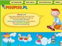 pisupisu.pl zabawy słowne, ćwiczenia ortograficzne, bajki