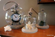 Make Your Own Glass Cloches