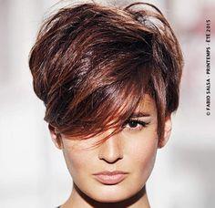 La coupe rock (Fabio Salsa) Coupe de cheveux courte