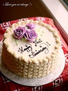 9 Best Wedding Anniversary Cakes Images 50th Wedding Anniversary