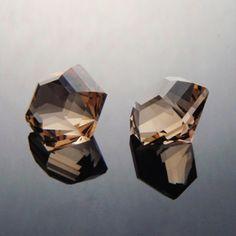 Bespoke Gems - Fine Handcut Designer Gemstones - Precious and Semi Precious Gemstones - Smokey Quartz