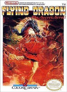 Flying Dragon: The Secret Scroll - NES