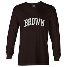 Ivysport Cotton Long Sleeve T-Shirt with Classic Logo School Color NCAA Colleges College T Shirts, Ncaa College, School Colors, Clothing Company, Long Sleeve Tees, Colleges, Logos, Classic, Cotton