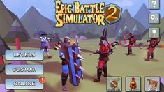 تحميل لعبة Epic Battle Simulator 2 v 1.2.05 مهكرة للاندرويد [اخر اصدار]