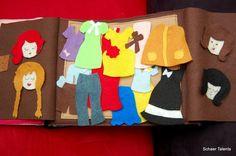 quiet book clothes - Pesquisa Google