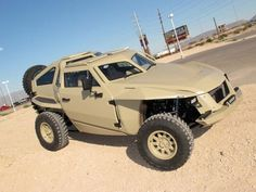 DARPA's XC2V FLYPMode crowd-sourced combat vehicle revealed, now in desert khaki