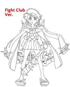 Kill La Kill - Mako (fight club ver.)