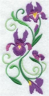 Machine Embroidery Designs at Embroidery Library! - On Sale Baby Embroidery, Free Machine Embroidery Designs, Modern Embroidery, Floral Embroidery, Beadwork Designs, Quilting, Ribbon Art, Needlepoint Patterns, Sewing Art