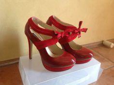 Tony Bianco Joss Red Heels